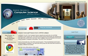 Adamson Computer Science Website