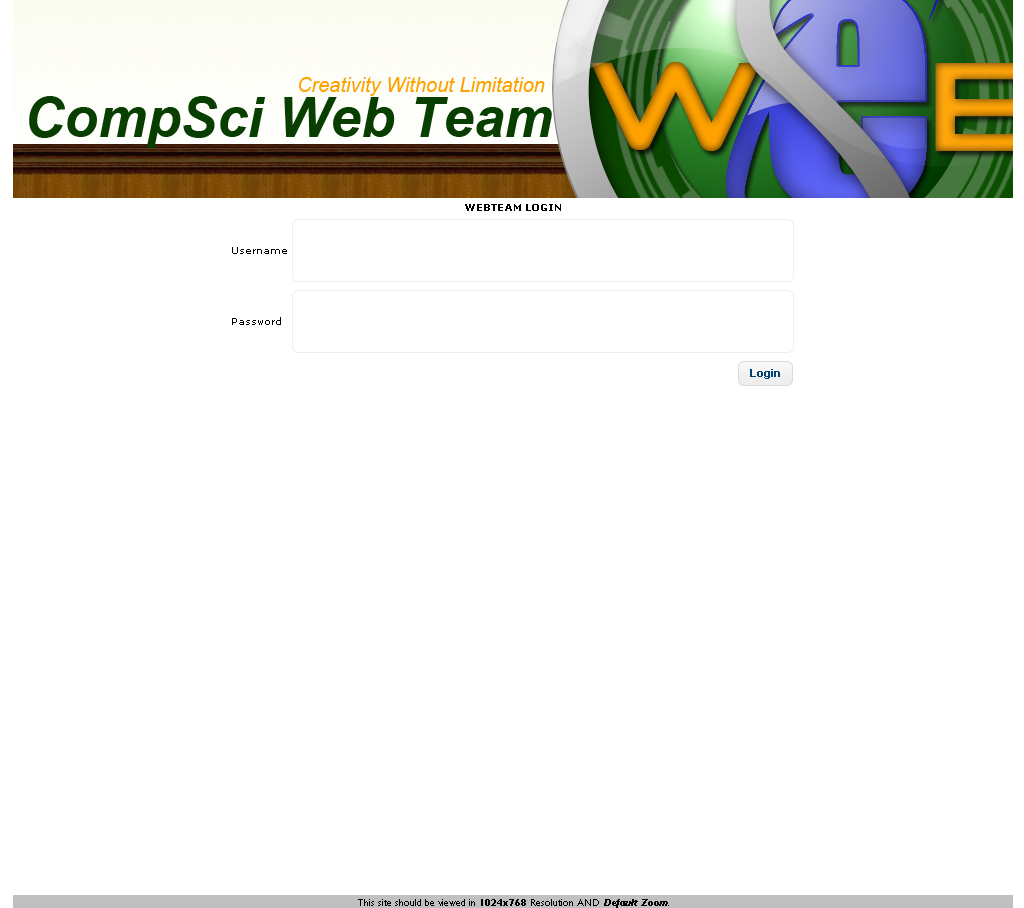 The Computer Science Web Team Tools